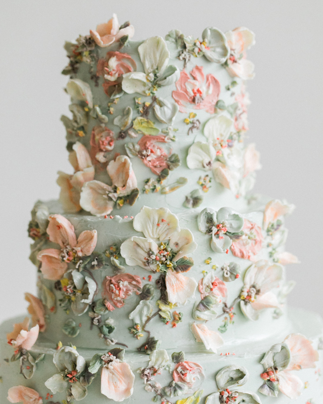 Cynz Cakes Free Form Buttercream Piping Flowers