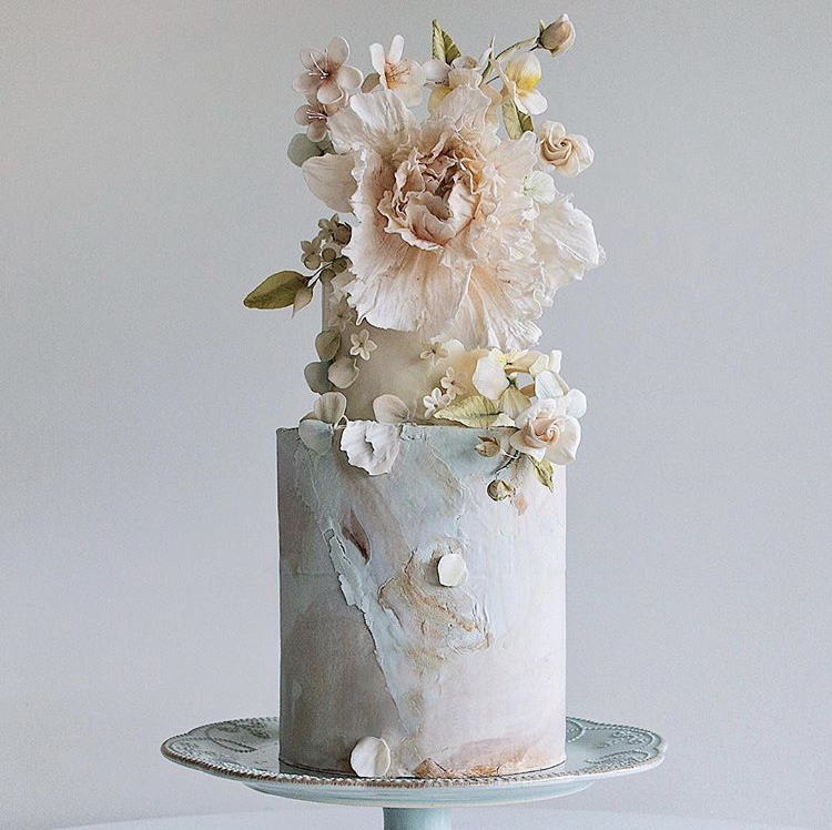 Cynz Cakes Free Form Buttercream Piping Flowers and Gum Paste Sugar Flowers